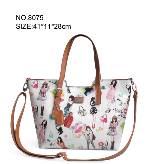 new design fashion PU leather handbags