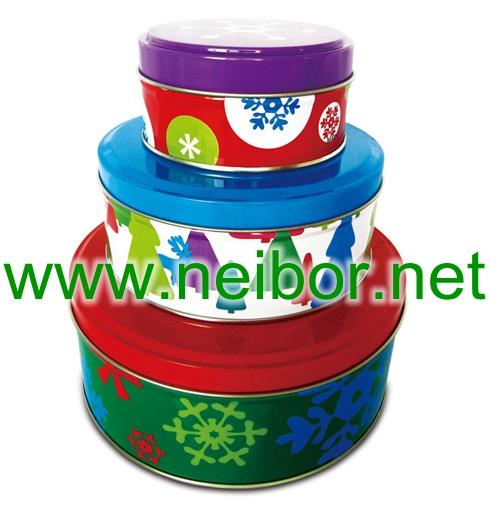 cake tin box cookie tin box baking tin box