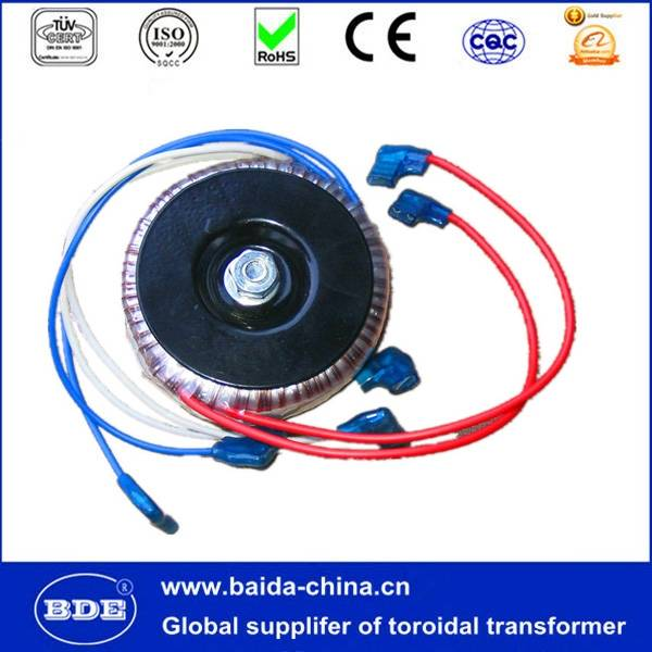 low frequency toroidal transformer