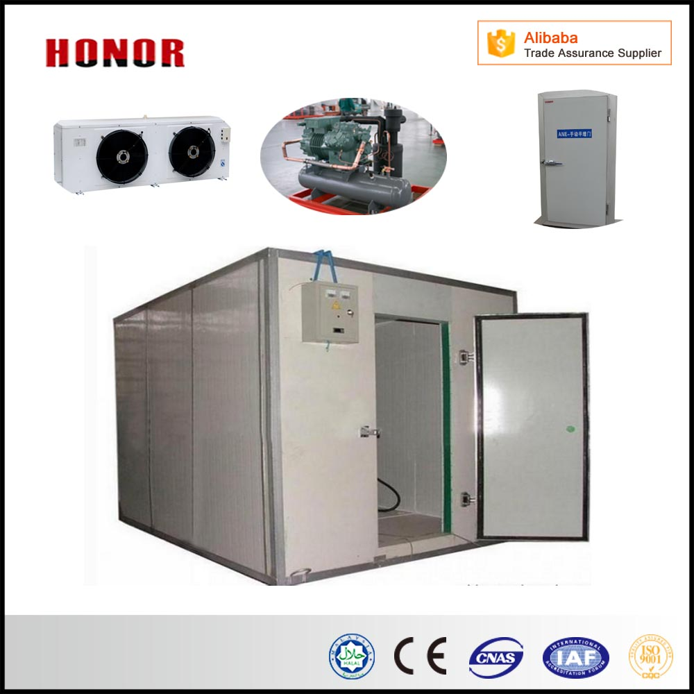 Cold Storage Project Cold Room For Meat Cold Storage Room Freezer for Food with OEM Design