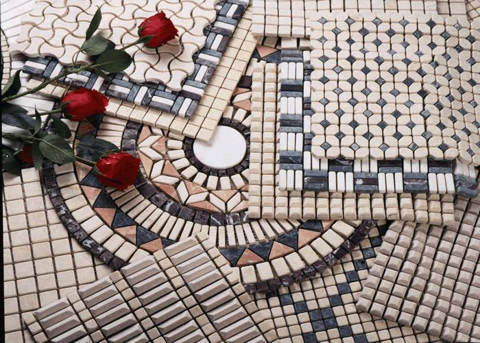 Modern mosaic tile,marble wall clading stone,marble mosaic