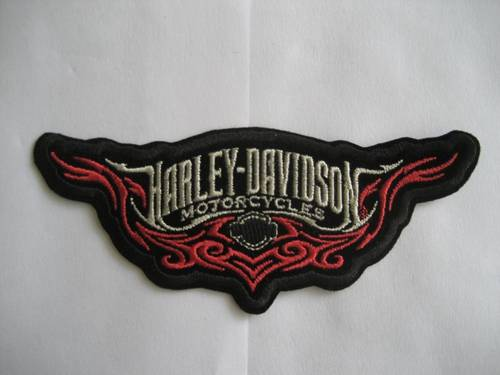 Motorcyle Embroidery Patch