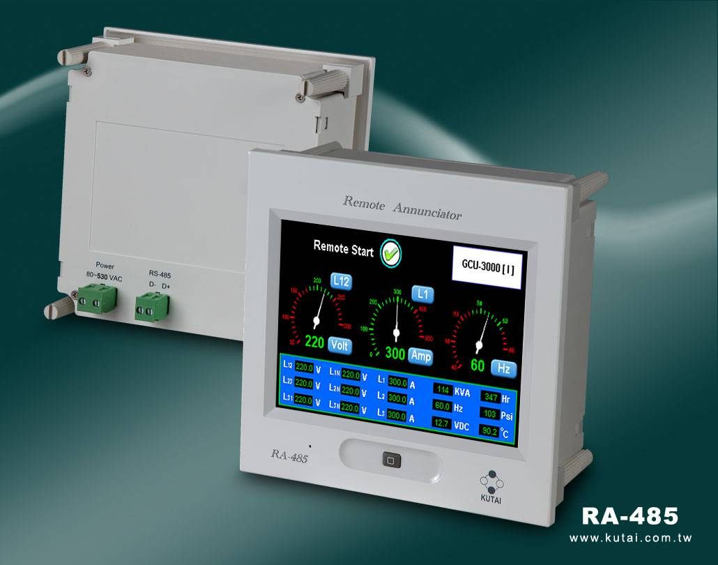 RA-485  Color Touch Screen Remote Annunciator