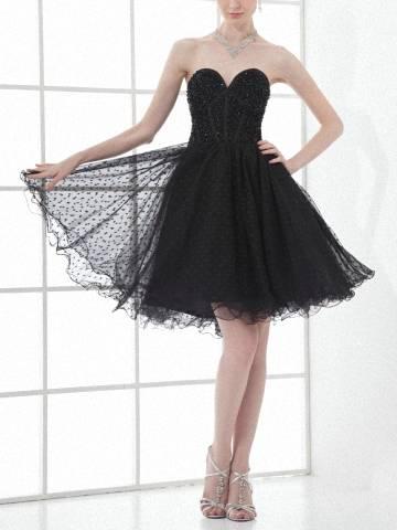 Vogue Sweetheart A Line Cocktail Dress Short Organza Party Dress