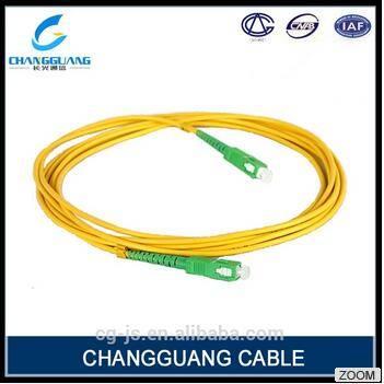 Factory Supply Fiber Optic Cable High Quality All Type St FC Sc LC Single Mode Multi Mode Fiber Opti