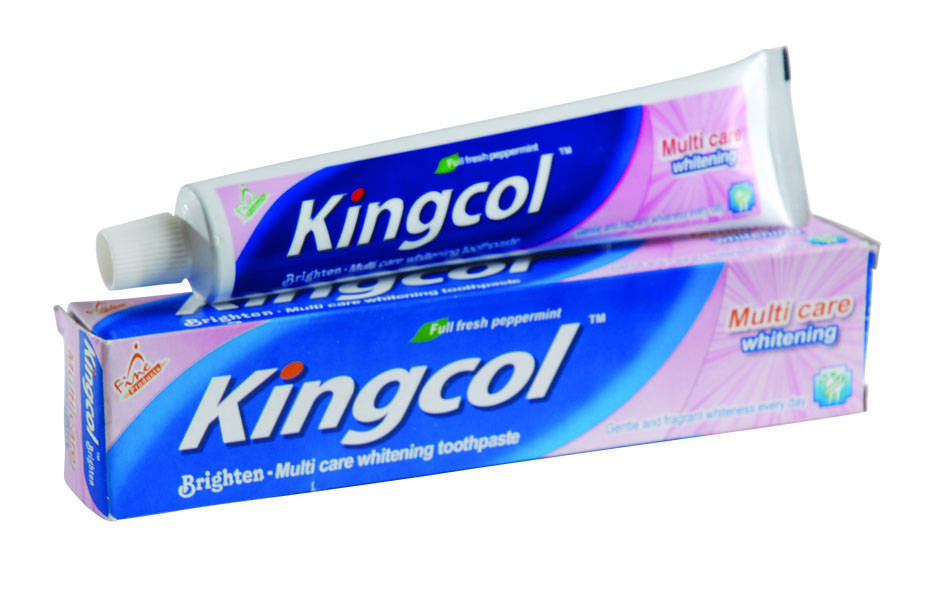 Kingcol fresh peppermint whitening toothpaste