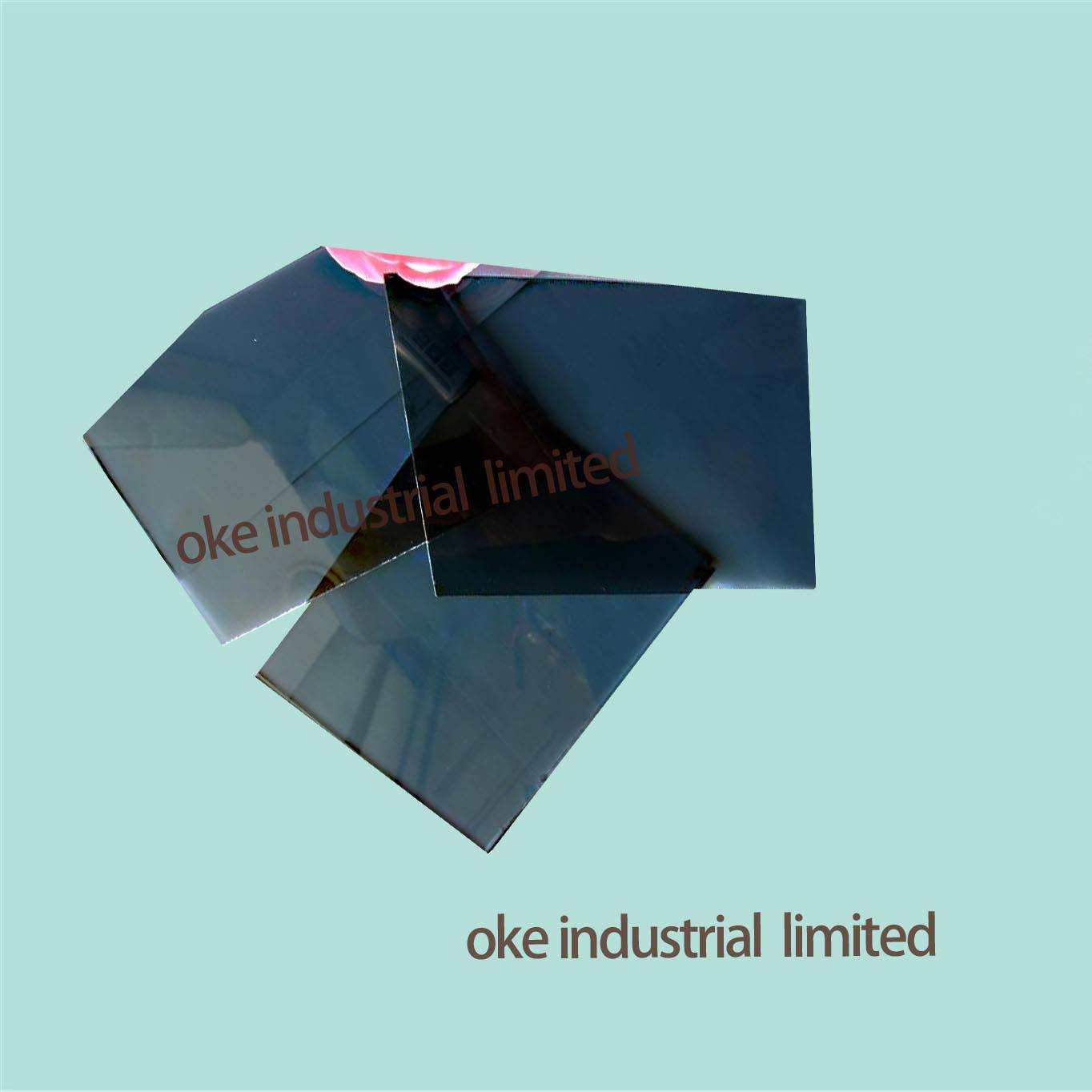 5.5MM DARK BLUE REFLECTIVE GLASS WITH 3300*2250