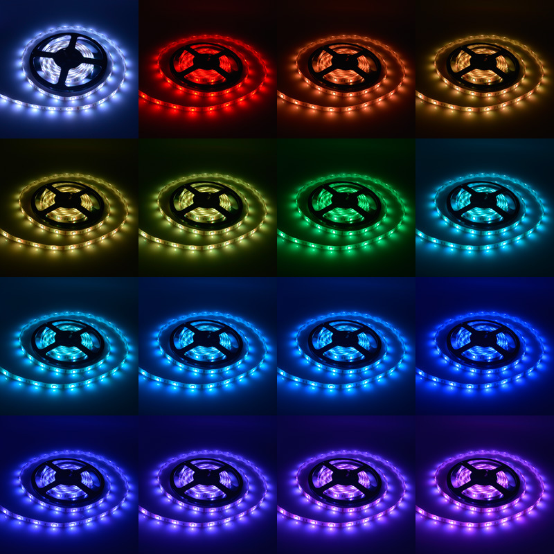 Factory wholesale price Waterproof rgb led strip / SMD3528 5050 led light strip fixtures / flexible