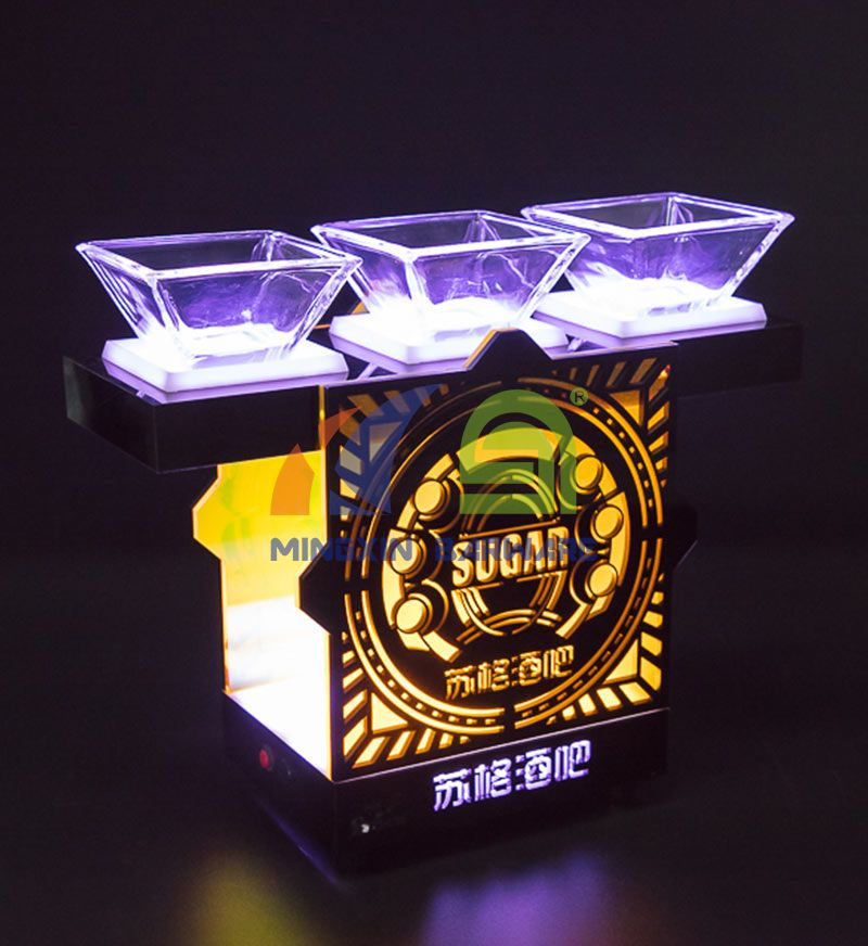 Snack Dish LED Serving Trayled serving tray for Nightclub