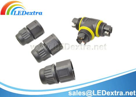Screw locking wire ip67/ip68 waterproof connector