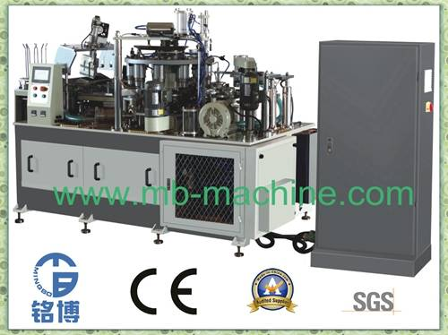 High Speed Square Bottom Paper Cup Machine (MB-12/22)