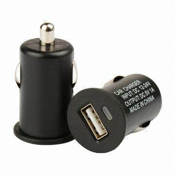 2015 new fashionable mini USB car chargers for smartphone or pad
