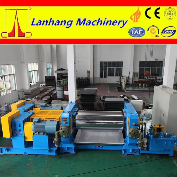 high effeifiency plastic open mixing mill with two roll