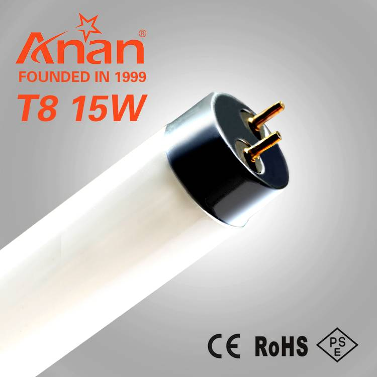 traditional fluorescent lamp T8 tube