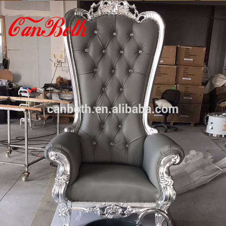 Canboth Wholesale gray royal pedicure spa chair with pedicure bowl CB-FP003