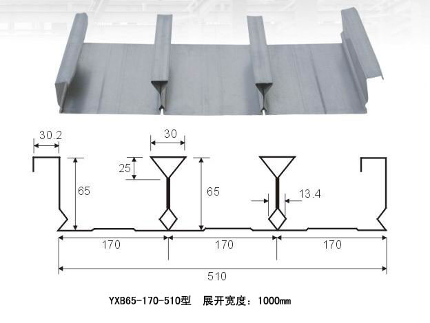 Zhenyu metal building materials floor support plate