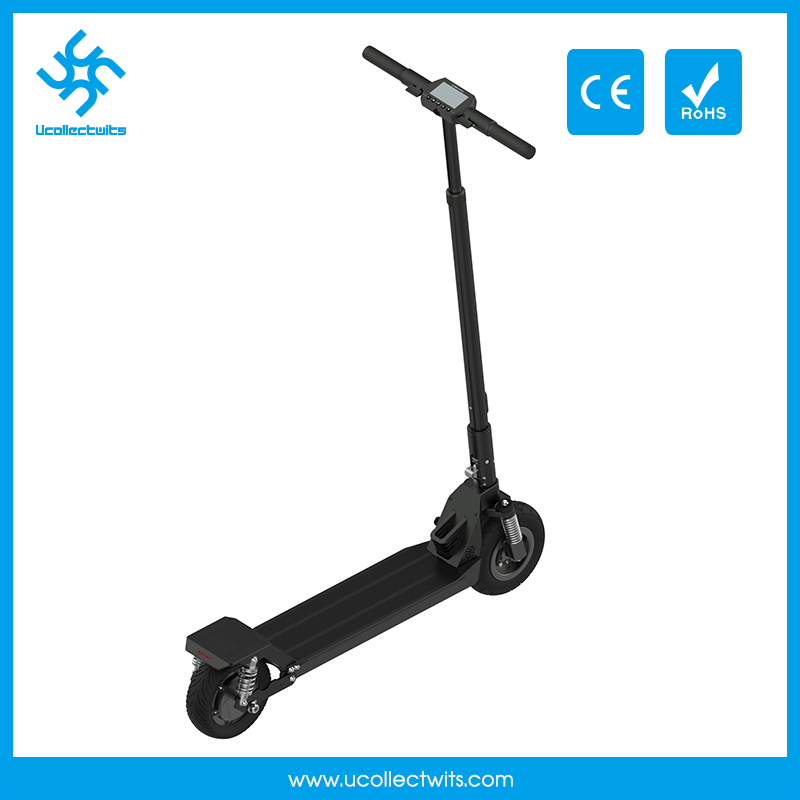 Best quality anti-scrath two wheel electric scooter 48V 300W
