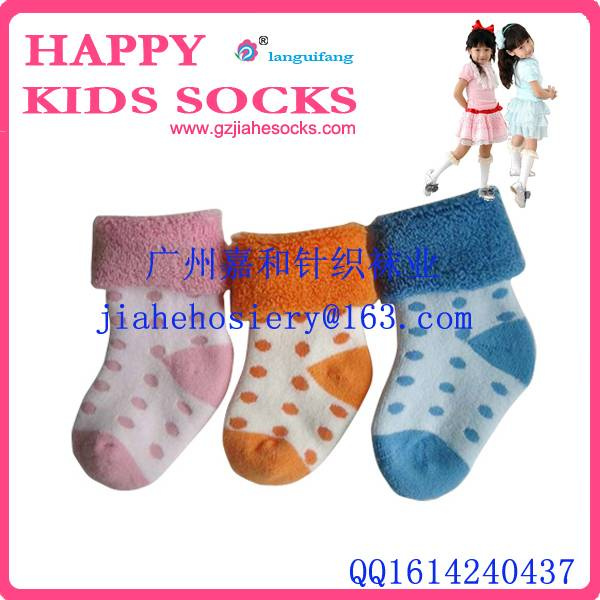 Baby cotton socks/ witter terry Baby socks/Newborn cotton socks