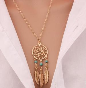 Styleibuy FASHION RETRO BOHEMIA DREAM CATCHER PENDANT CHAIN NECKLACE GIFT