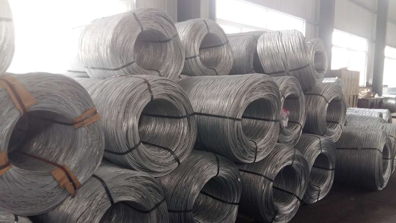 high carbon continuous galvanized steel wire in big spool