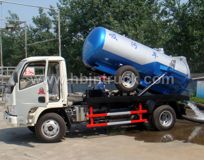 Dongfeng 3000 litres Vacuum Tank Truck