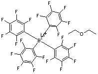 Lithium tetrakis(pentafluorophenyl)borate's etherate