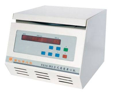TG16-WS table-top high speed centrifuge