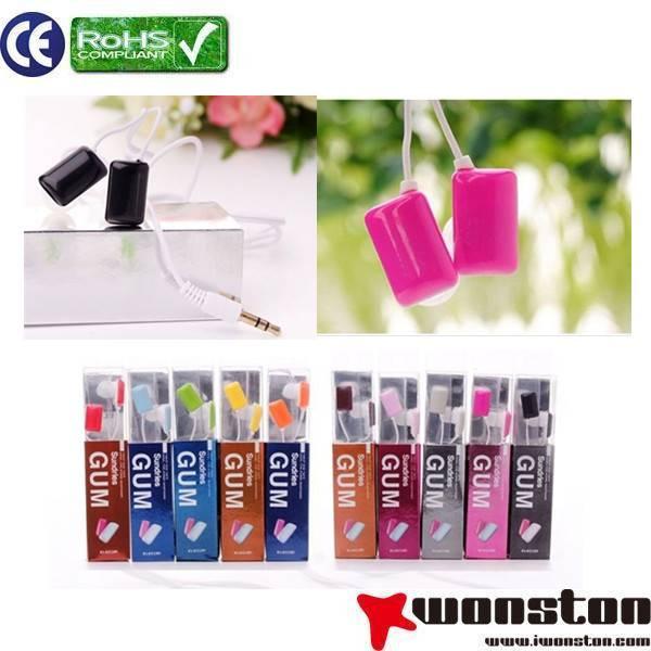 2013 hot sales colorful mobile phone earphone