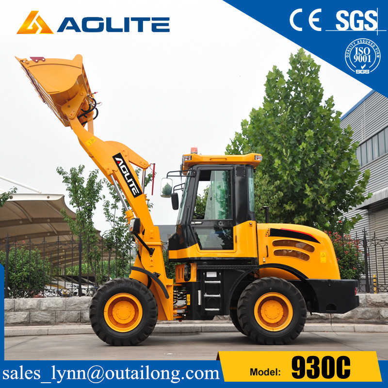 Chinese Factory Small Construction Machinery Tractor Wheel Loader for Sale