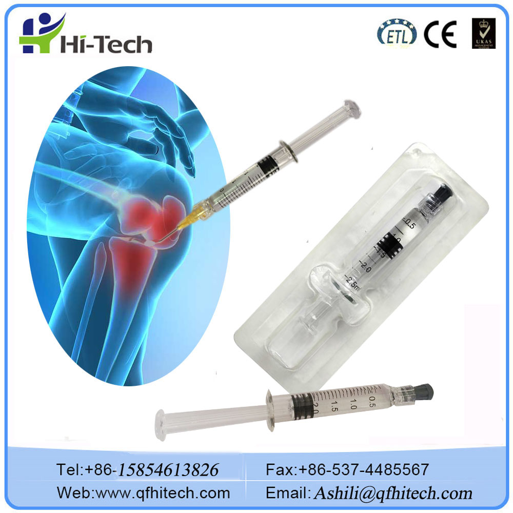 Injectable Medical Sodium Hyaluronate Gel Apply To Osteoarthritis