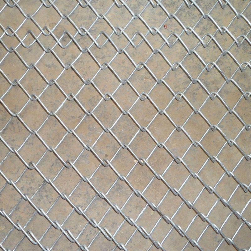 Galvanized Iron Chain Link Wire Mesh Fence For Stadium