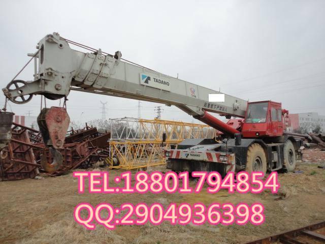 original 50t used truck crane TADANO
