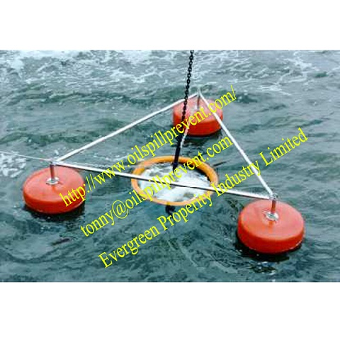 Weir Oil SkimmerPVC floating boom from Evergreen Properity in Chinese(Qingdao Singreat)