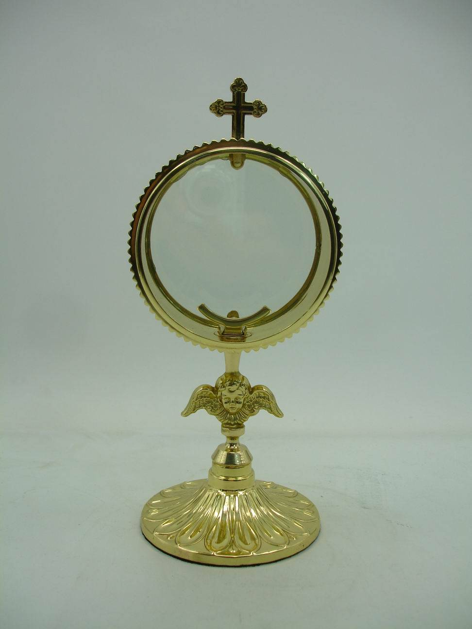 100% guaranteed high quality monstrance, excellent brass church craft #X51
