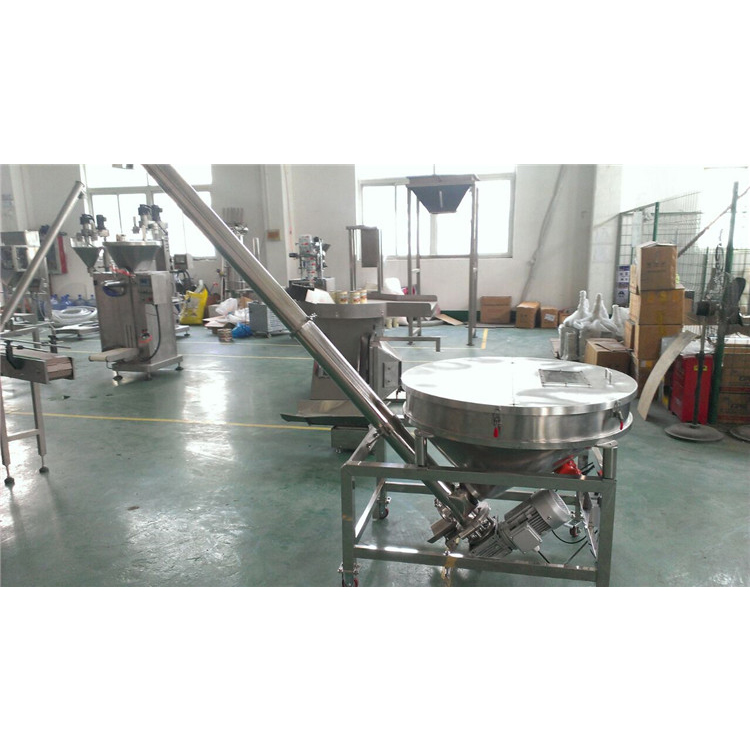 Vibrating automatic chilli powder screw feeder