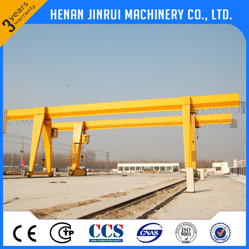 Low Price Factory Single Girder 100 Ton Mobile Gantry Lifting Crane