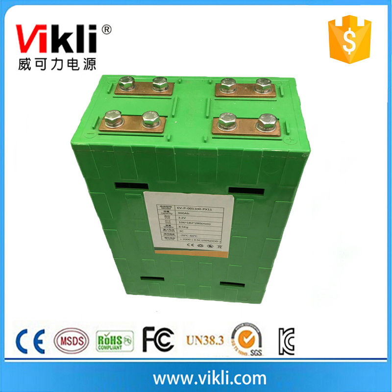 Deep cycle rechargeable lithium 3.2V li ion battery