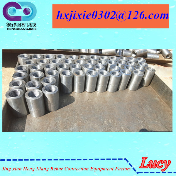 rebar threaded coupler with factory price