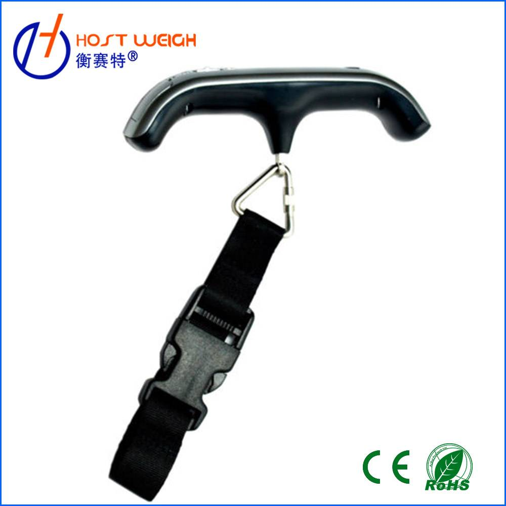 CE,RoHS 50kg/10g Digital Portable Travel Luggage Scale With Hook