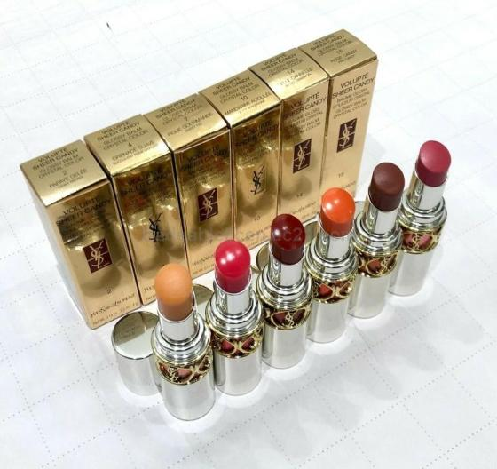 Ysl Lipsticks , Rouge Volupte, Rouge Volupte Shine