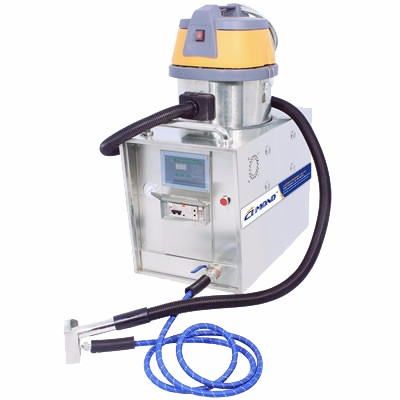small steam cleaning machine and vacuum cleaner