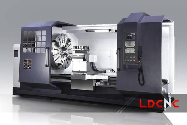 CK61100 light duty CNC lathe machine, Max. loading capacity 8 tons