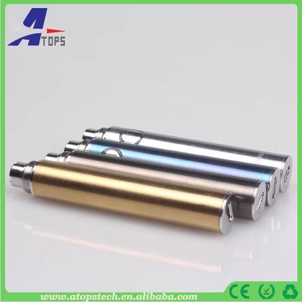 Atops newest updated evod mod HAHA ecig vacuum coating no scraches glossy evod battery