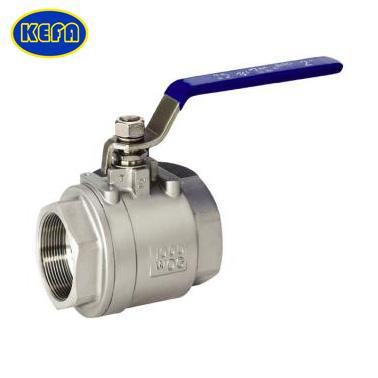 two-piece type ball valve