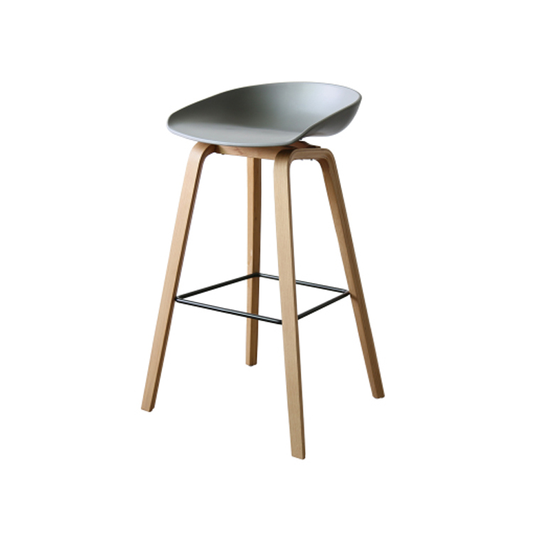 Wholesale Kitchen Counter Plastic Hay Bar Stool