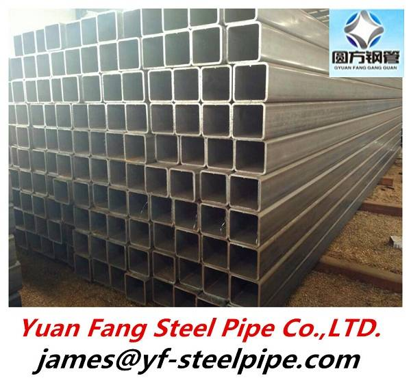 600*600mm big diameter square hollow section steel tube large diameter steel pipe