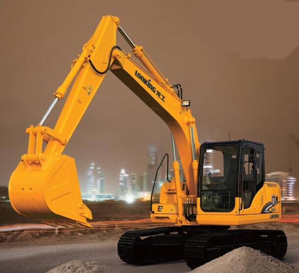 86KW China Famous Brand Crawler Type Hydraulic Excavator Machinery For Sale