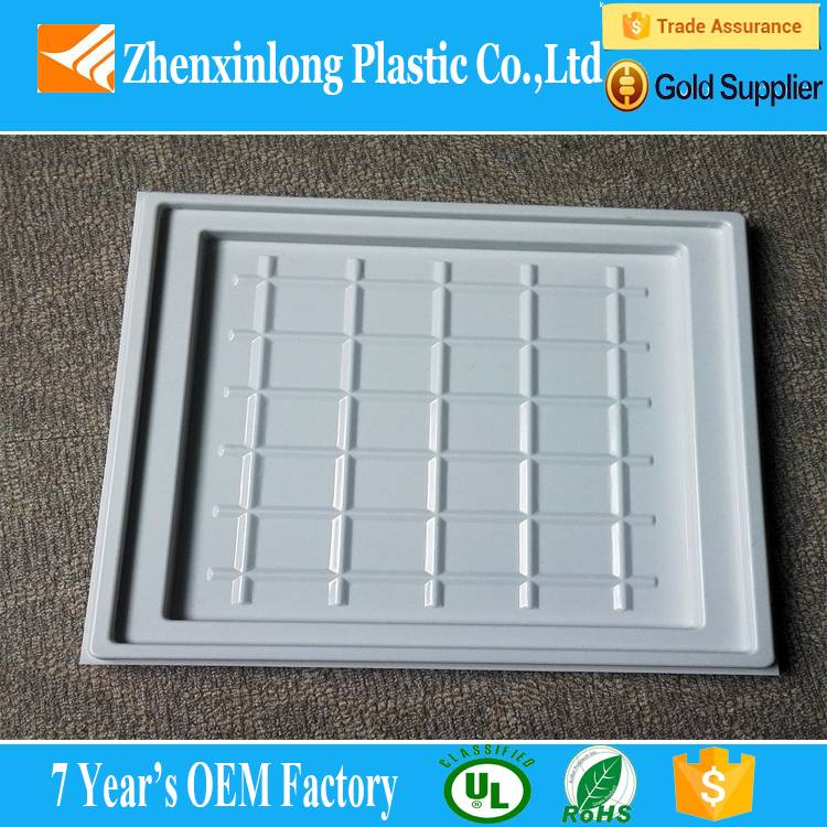 customized ps vacuum thermoforming plastic tray