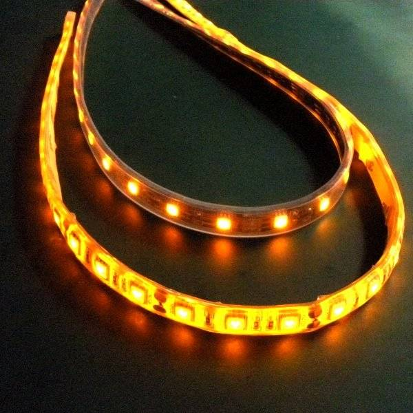 Hot 12v led strip light, rgb flexible light 3 years warranty