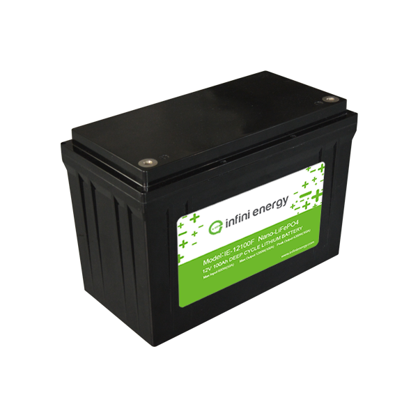 12V 100Ah electric vehicle motorhome rv battery